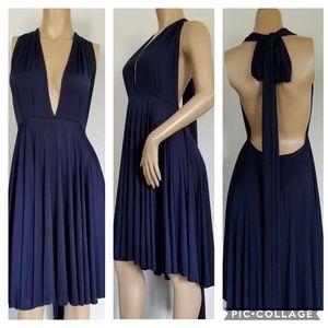 70's bare back dress